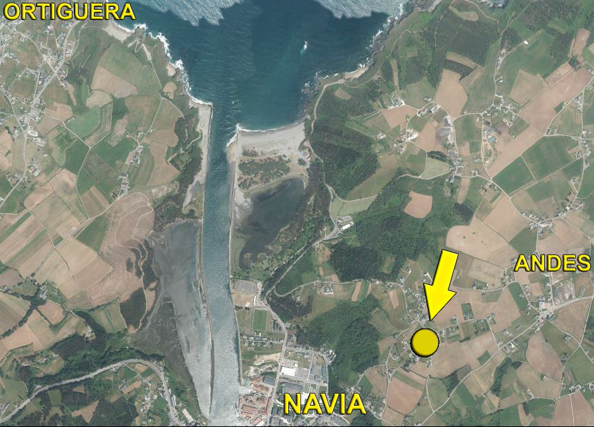 Plot en venda in Navia
